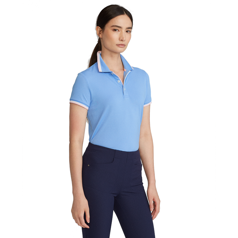Val Short Sleeve Tailored Polo Shirt