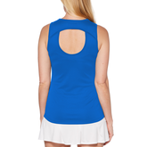 Alternate View 1 of Blue Fireworks Collection: Keyhole Tank Top