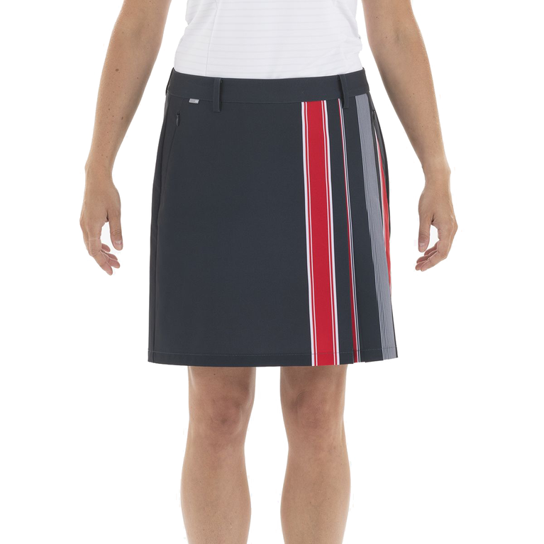 Americana Collection: Alessia Contrast Pleat Skort