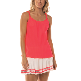 C'est La Vie Collection: Pleated Strappy Cami Tank Top
