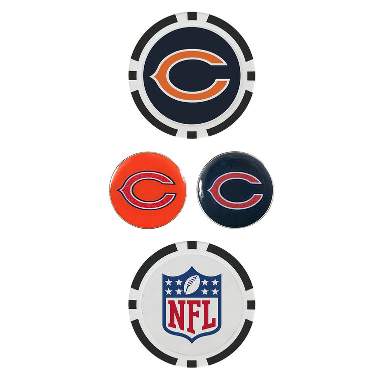 Team Effort Chicago Bears Ball Marker Set