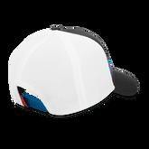 Stripe Mesh Hat