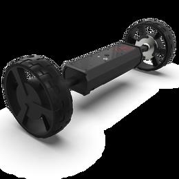 Club Booster V2 w/ Clicgear 4-Wheel Brackets