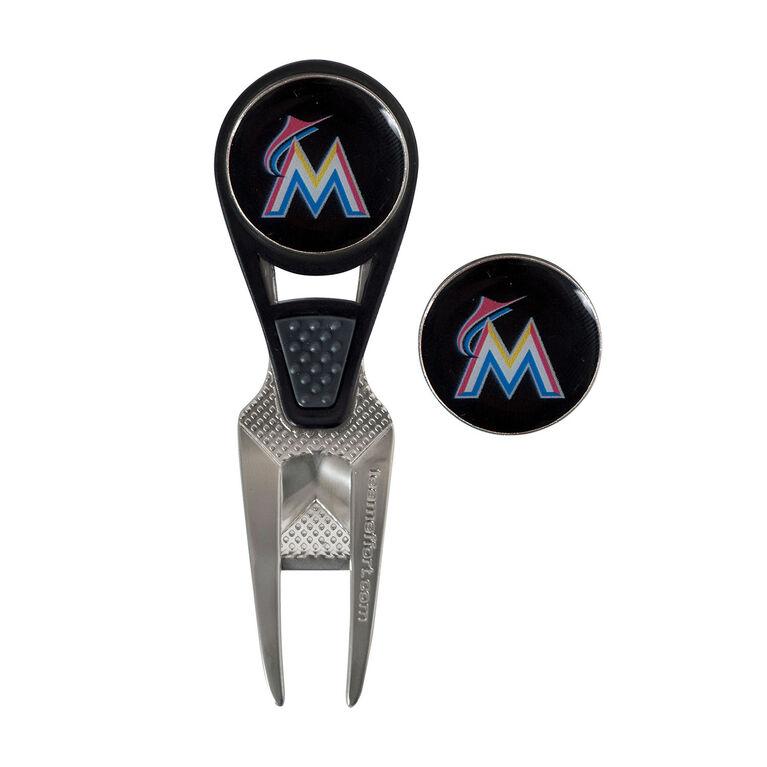 Team Effort Miami Marlins CVX Ball Mark Repair Tool