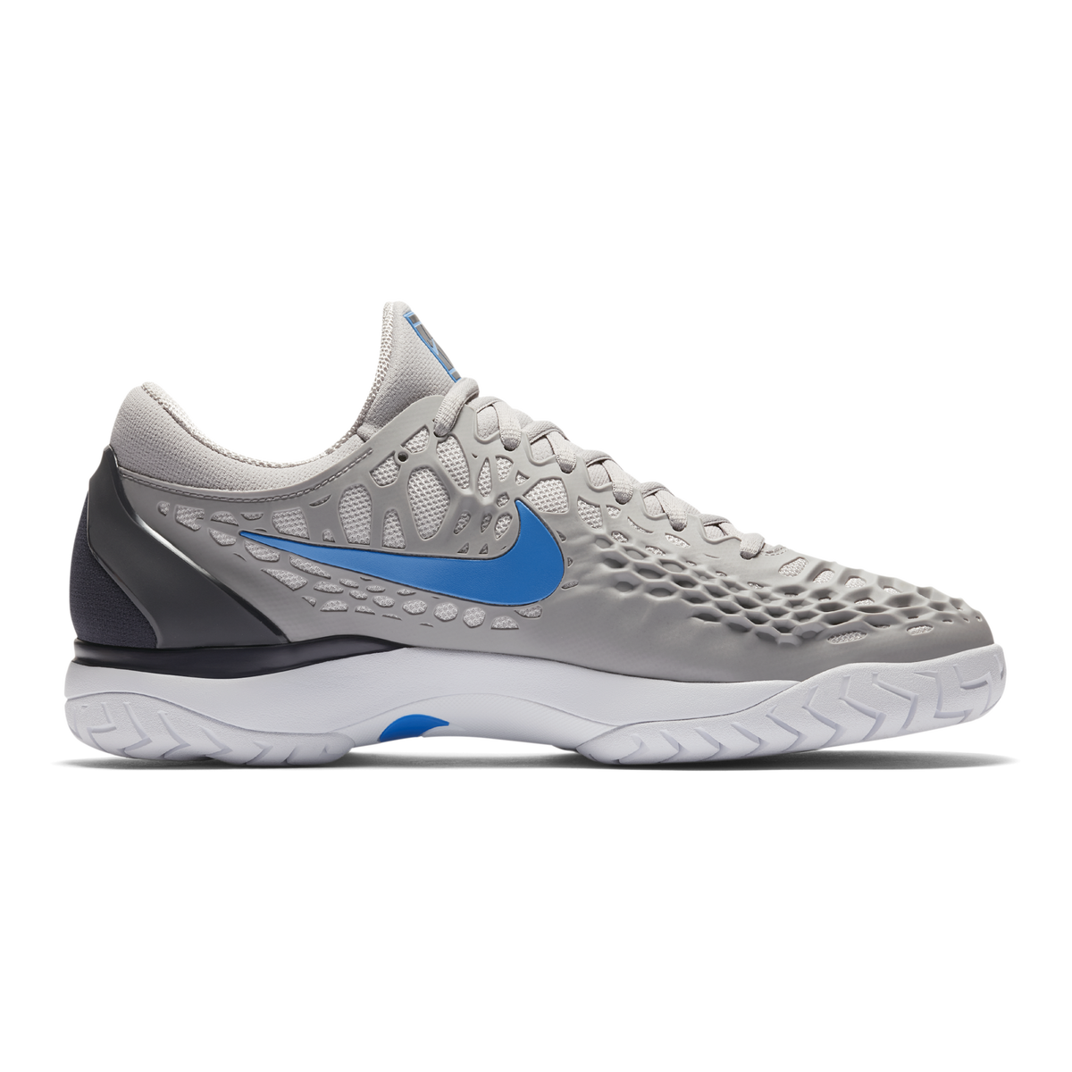 8dea283dc499 Images. Nike Zoom Cage 3 Men  39 s Tennis Shoe - Grey Blue