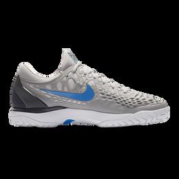Nike Zoom Cage 3 Men's Tennis Shoe - Grey/Blue