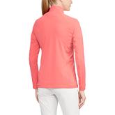 Polo UV Jersey Mockneck Top