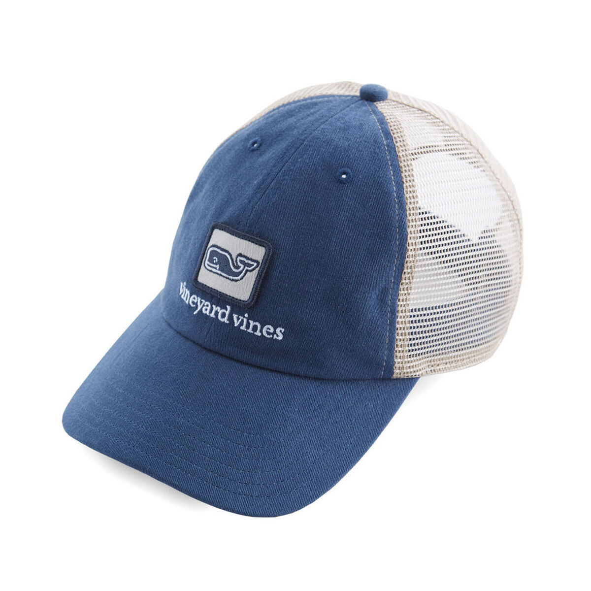 056f4e28a73bf Images. Vineyard Vines Low Profile Deconstructed Whale Trucker Hat