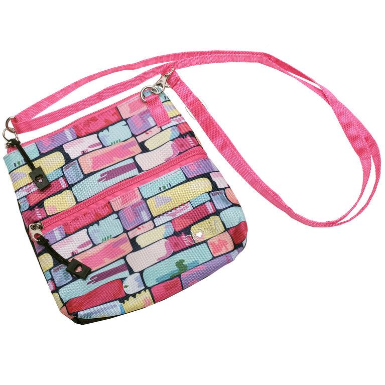 Tile Fusion Zip Bag