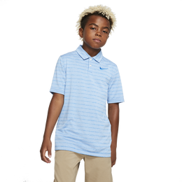 Dri-FIT Heathered Striped Golf Polo