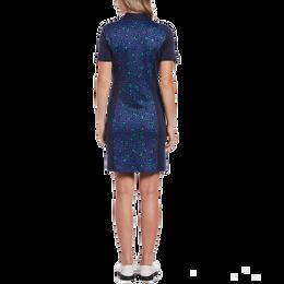 Geo Print Short Sleeve Golf Dress