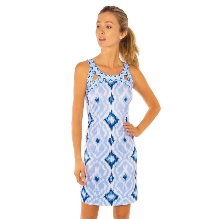 Jersey Isosceles Dress - Kitt Ikat