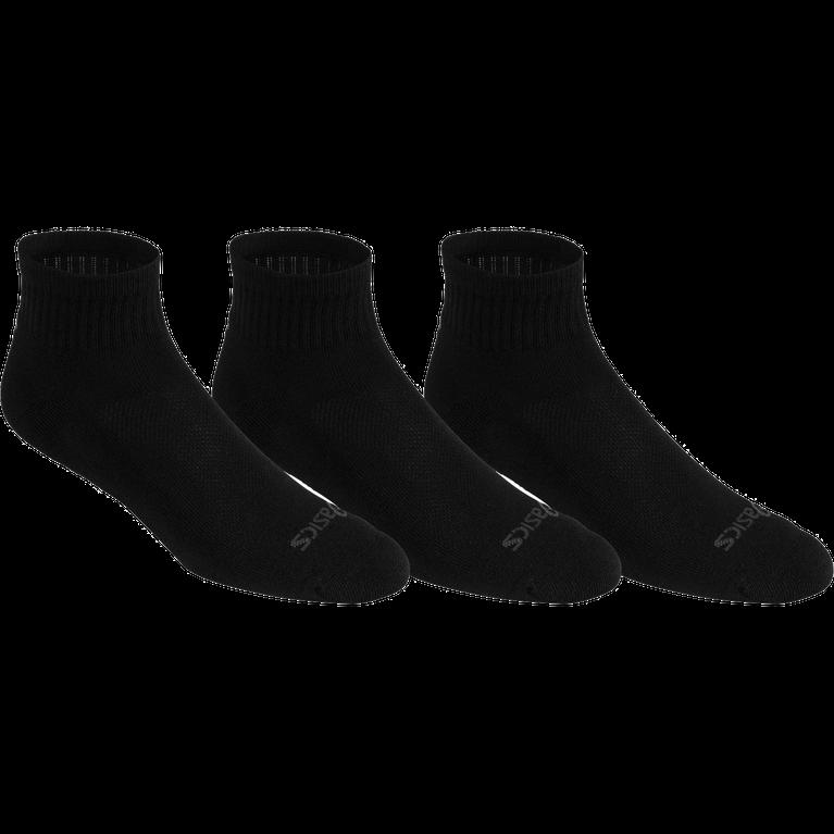 Cushion Quarter Socks - 3 PK