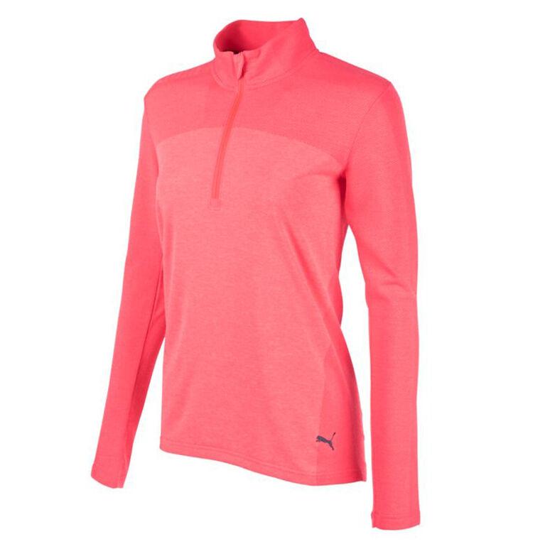 Puma Women's EVOKNIT Seamless 1/4 Zip Pullover