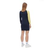 Alternate View 3 of Lise Long Sleeve Color Block Dress