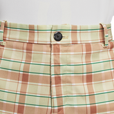 Alternate View 3 of Flex Men's Plaid Golf Shorts