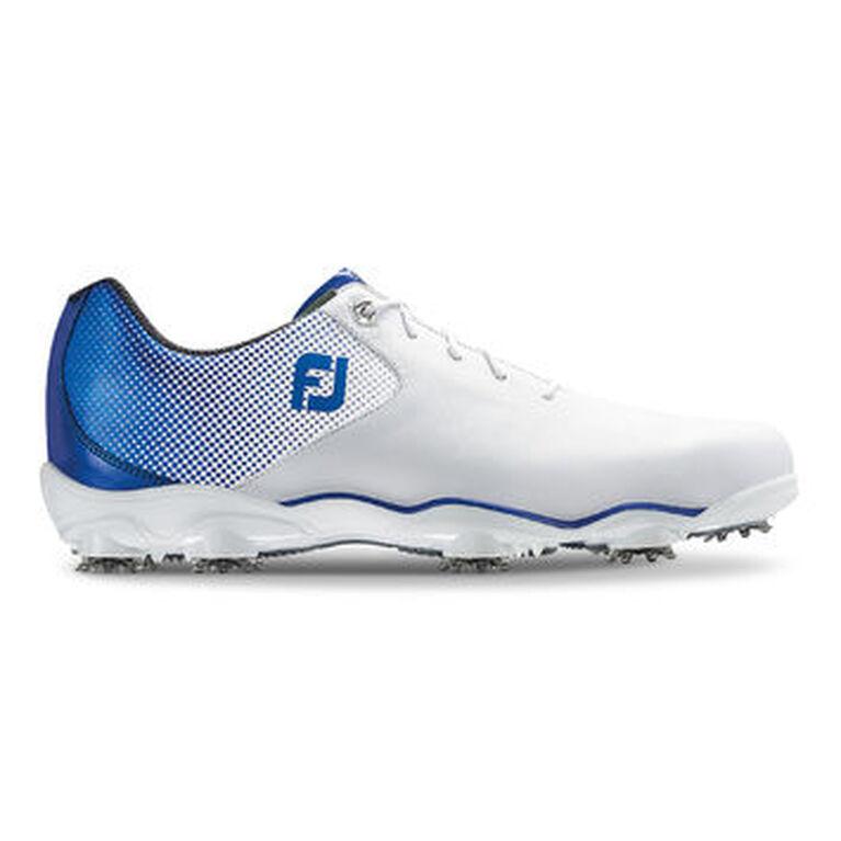 FootJoy D.N.A. Helix Men's Golf Shoe - White/Blue