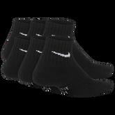 Alternate View 1 of Nike Kids Performance Cushioned Quarter Training Socks (6 Pair)
