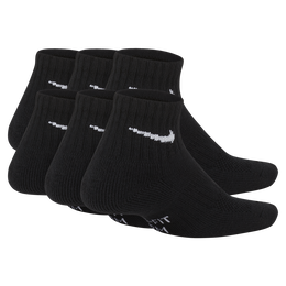 Nike Kids Performance Cushioned Quarter Training Socks (6 Pair)