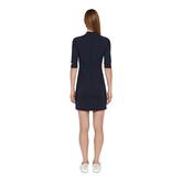 Alternate View 3 of Sahra Half Sleeve Mock Neck Dress