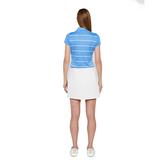 Alternate View 5 of Alysa Short Sleeve Striped Polo