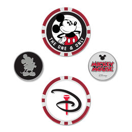 Mickey Mouse/Disney Ball Marker Set of 4