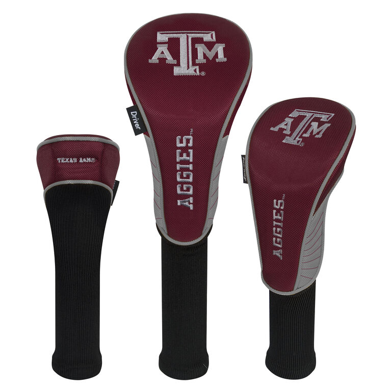Team Effort Texas A&M Aggies Headcover Set of 3