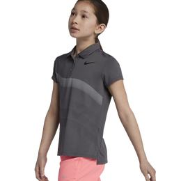 Nike Girls' Wavy Lines Polo