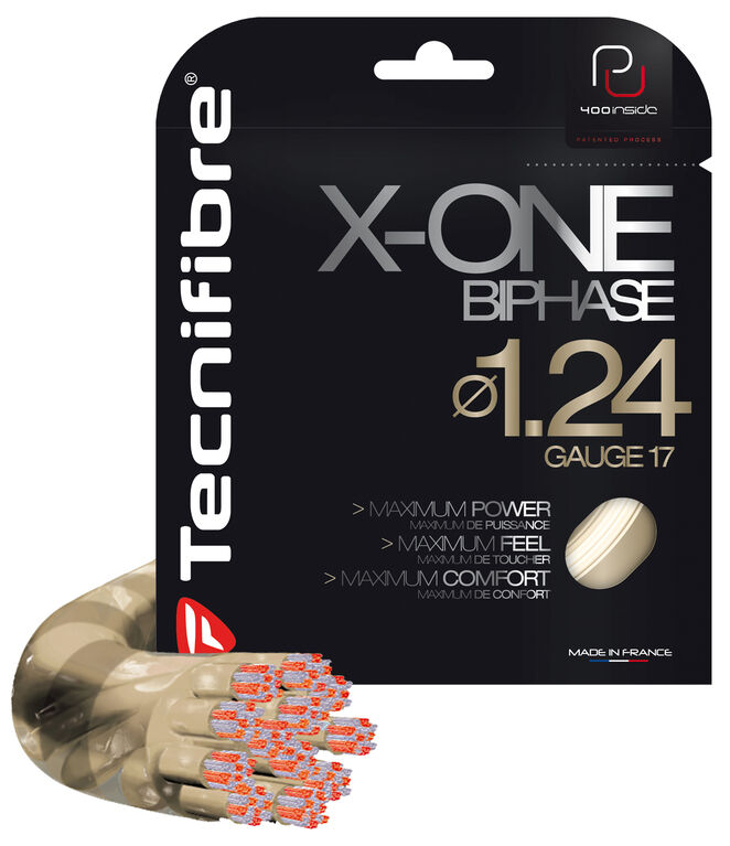Tecnifibre X-One Biphase 16G String - Natural