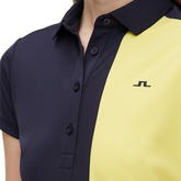 Alternate View 2 of Josephine Short Sleeve Color Block Polo