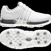 Alternate View 4 of TOUR360 XT Men's Golf Shoe - White/Black/Silver