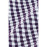 Alternate View 4 of Malloy Purple Green Check Dress Shirt