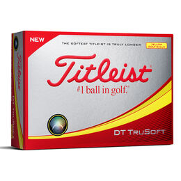 Titleist DT TruSoft Personalized - Yellow