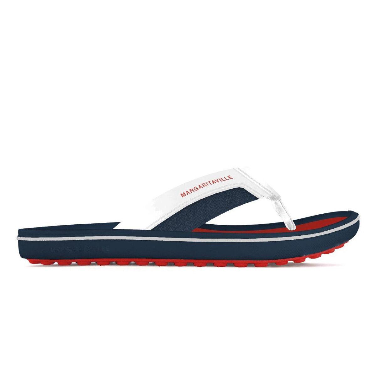 acf88d1e3110 Margaritaville FOOT WEDGE Men s Golf Sandal - Red White Blue