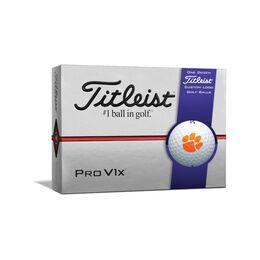 Clemson Tigers Pro V1x Golf Balls