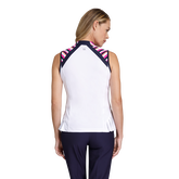 Alternate View 1 of Gem Group: Katelyn Sleeveless Striped Shoulder Top