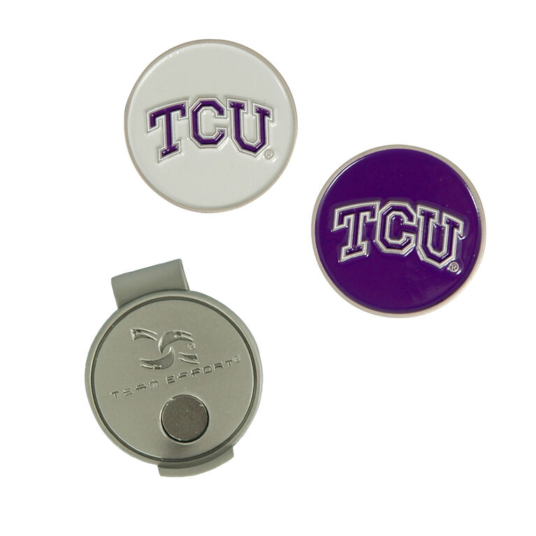 Team Effort Team Effort TCU Horned Frogs Hat Clip