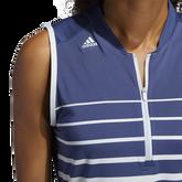 Alternate View 4 of Striped Sleeveless Polo Shirt