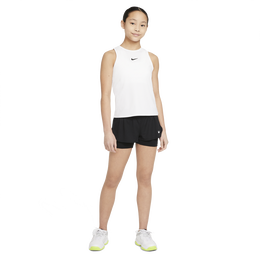 Dri-FIT Victory Sleeveless Junior Girls' Tennis Tank Top
