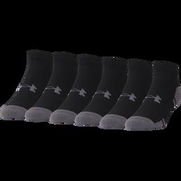 Under Armour Resistor III Lo-Cut Socks - 6 Pack