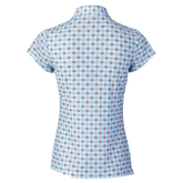 Alternate View 1 of Sue Breeze Short Sleeve Printed Polo Shirt