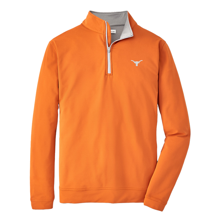 Texas Longhorns Perth Stretch Loop Terry Quarter-Zip Pullover