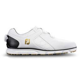 FootJoy Pro/SL BOA Men's Golf Shoe - White/Black