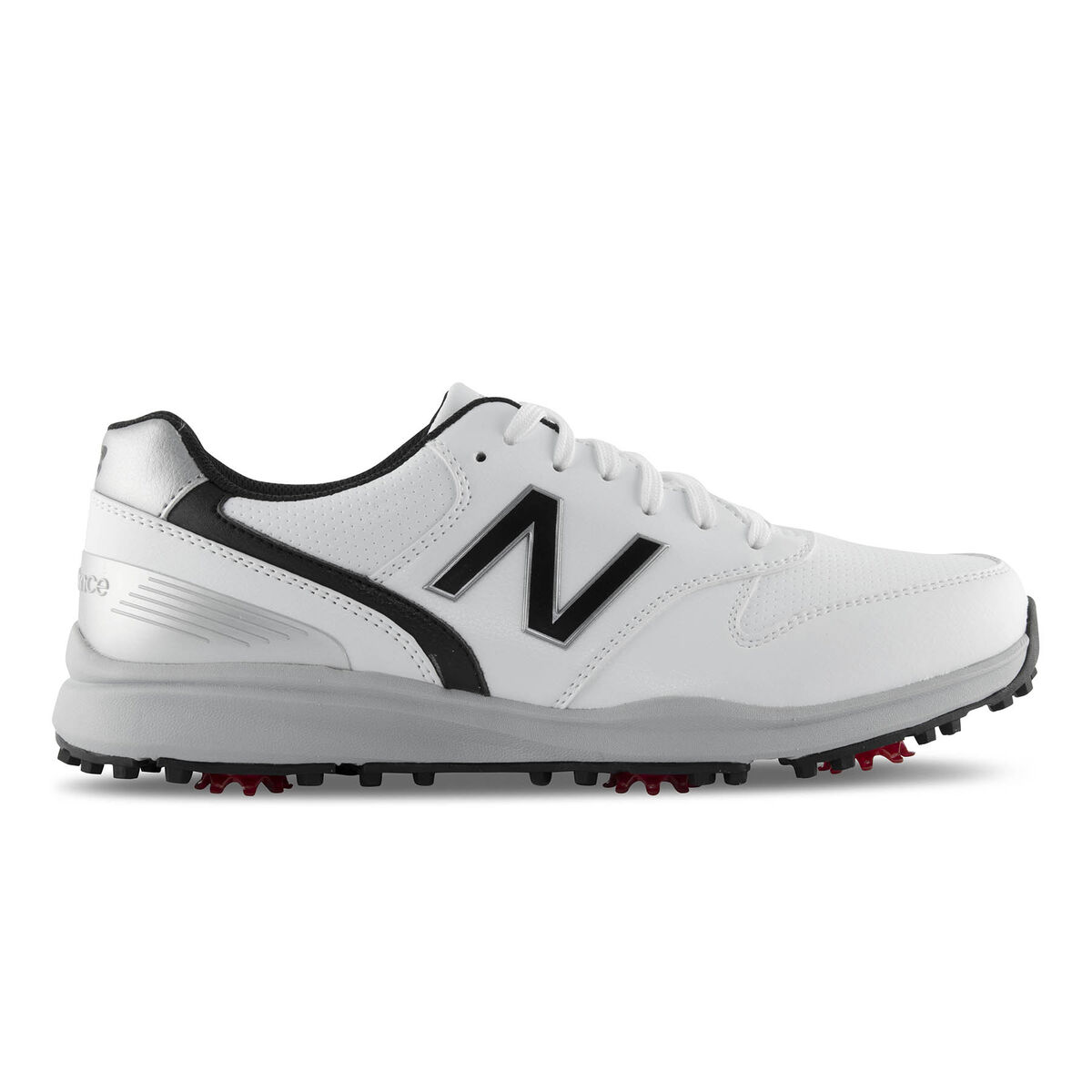 dacb8623622ae New Balance Sweeper Men's Golf Shoe - White/Black | PGA TOUR Superstore