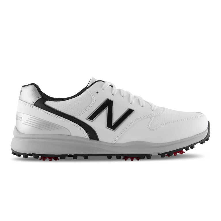 Sweeper Men's Golf Shoe - White/Black