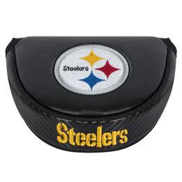 Team Effort Pittsburgh Steelers Black Mallet Putter Cover