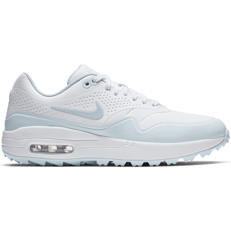 nouveau produit 8f64c 6a0c9 Air Max 1 G Women's Golf Shoe - White/Blue