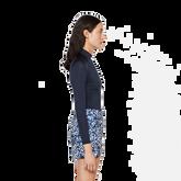 Amelie TX Jersey Print Skirt Side Cut