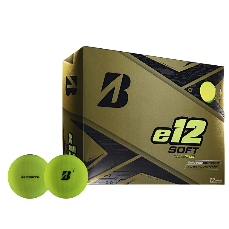 e12 Soft Green Golf Balls