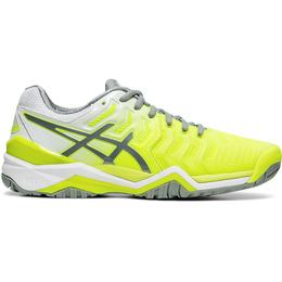 GEL-RESOLUTION 7 Women's Tennis Shoe - Yellow/White